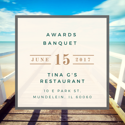 Awards Banquet June 15th, 2017