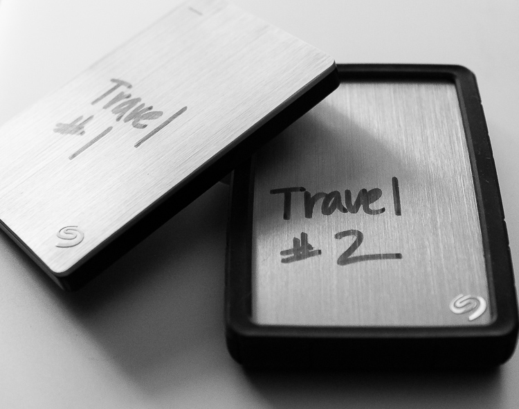 Backing Up Your Images While Traveling